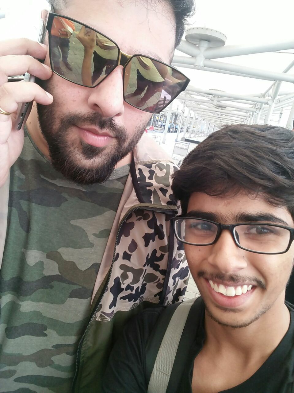 haha, does he need any introduction, when I landed in Delhi, I see him. Though not a fan, but still :p